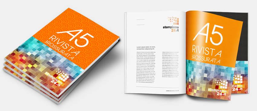 stampa-rivista-A5-brossura