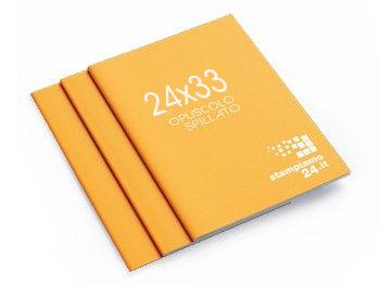 Opuscoli 24x33 spillati