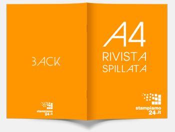 Stampa riviste A4 spillate online