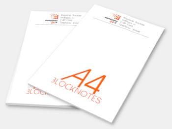 Stampa block notes blocchi appunti ricettari online a4 a5 a6 10x21 personalizzati