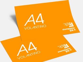 Volantini A4